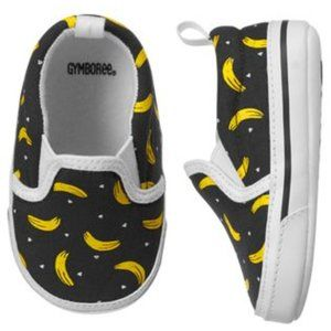 NEW Gymboree That's Bananas! Infant Loafers